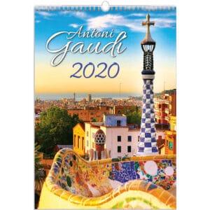 Calendrier Antoni Gaudi 2020