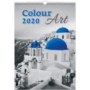 Calendrier Colour Art 2020