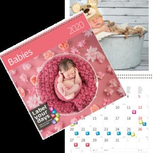 Calendrier Babies 2020