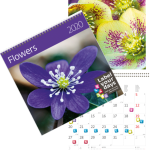 Calendrier Flowers 2020