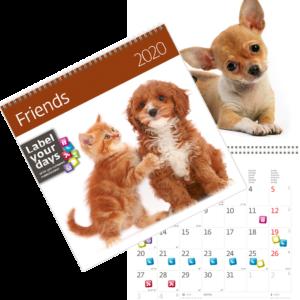 Calendrier Friends 2020