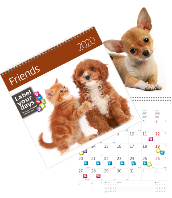 Calendrier Friends 2020