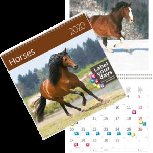 Calendrier Horses 2020