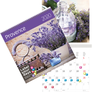 Calendrier Provence 2020