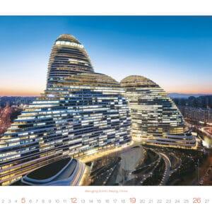 Calendrier Modern Architecture 2020 Janvier