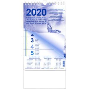 Bloc semainier 2020