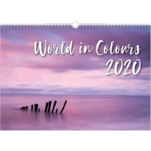 Calendrier World in Colours 2020