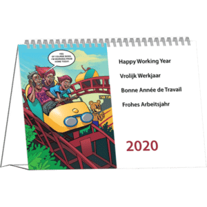 Calendrier de bureau Cartoon 2020