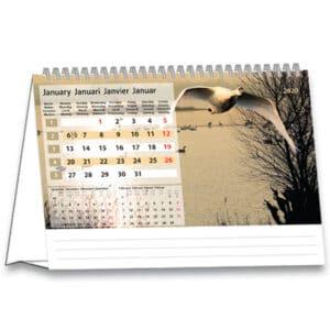 Calendrier de bureau Serenity 2020 Janvier
