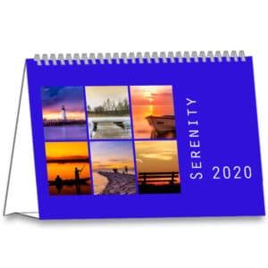 Calendrier de bureau Serenity 2020