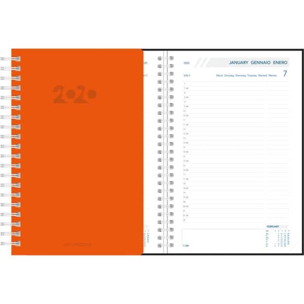 Agenda Daily 2020 Orange