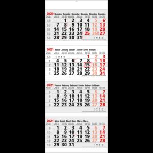 Calendrier 4 mois Maxi 2021