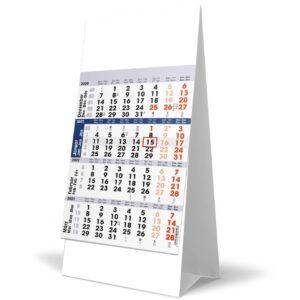 Calendrier de bureau 4 mois 2021