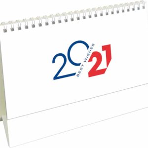 Calendrier de bureau Belgium Mémo 2021 page de garde