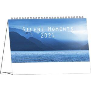 Calendrier de bureau Silent Moments 2021