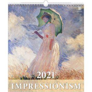Calendrier Art Impressionism 2021