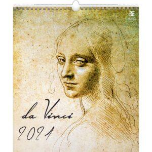 Calendrier Art Leonardo da Vinci 2021