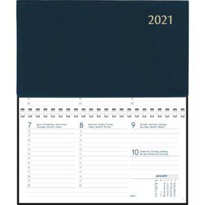Agenda Novoplan spirale bleu 2021