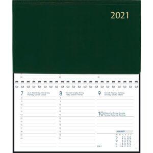 Agenda Novoplan spirale vert 2021