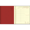 Agenda Plan-a-week spirale rouge 2021