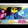 Calendrier mural Street Art 2021