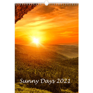 Calendrier mural Sunny Days 2021