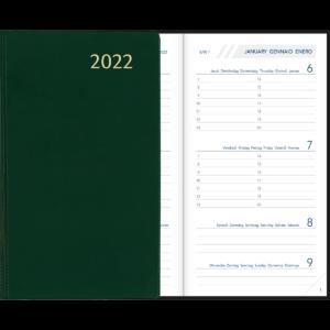 Visuplan relié 2022 Vert